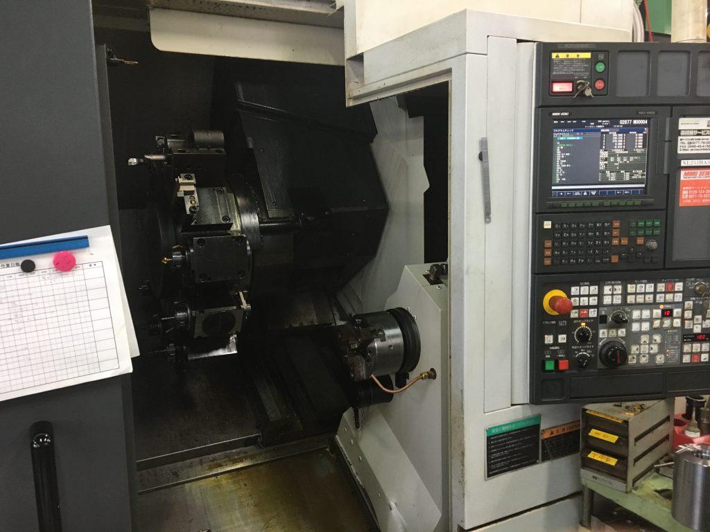 CNC複合旋盤(森精機 NL2500)