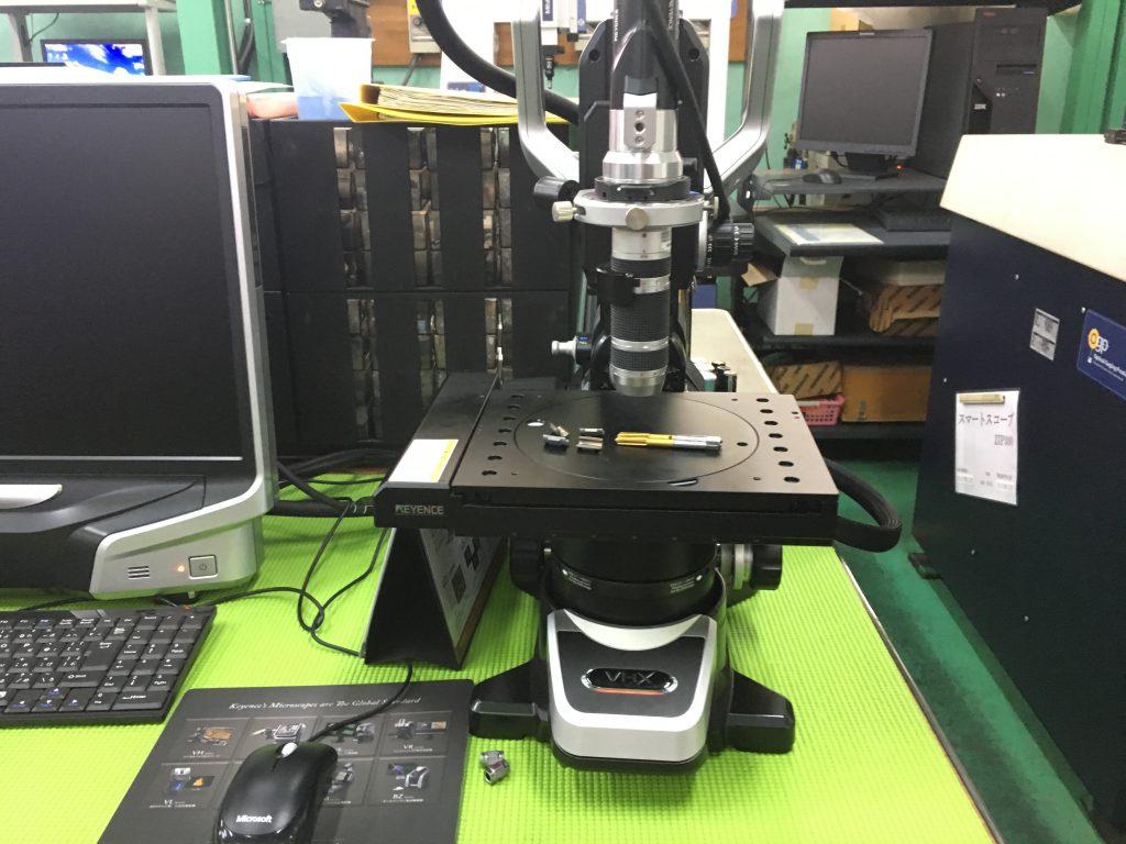 非接触画像測定器(キーエンス製 VHX-6000)