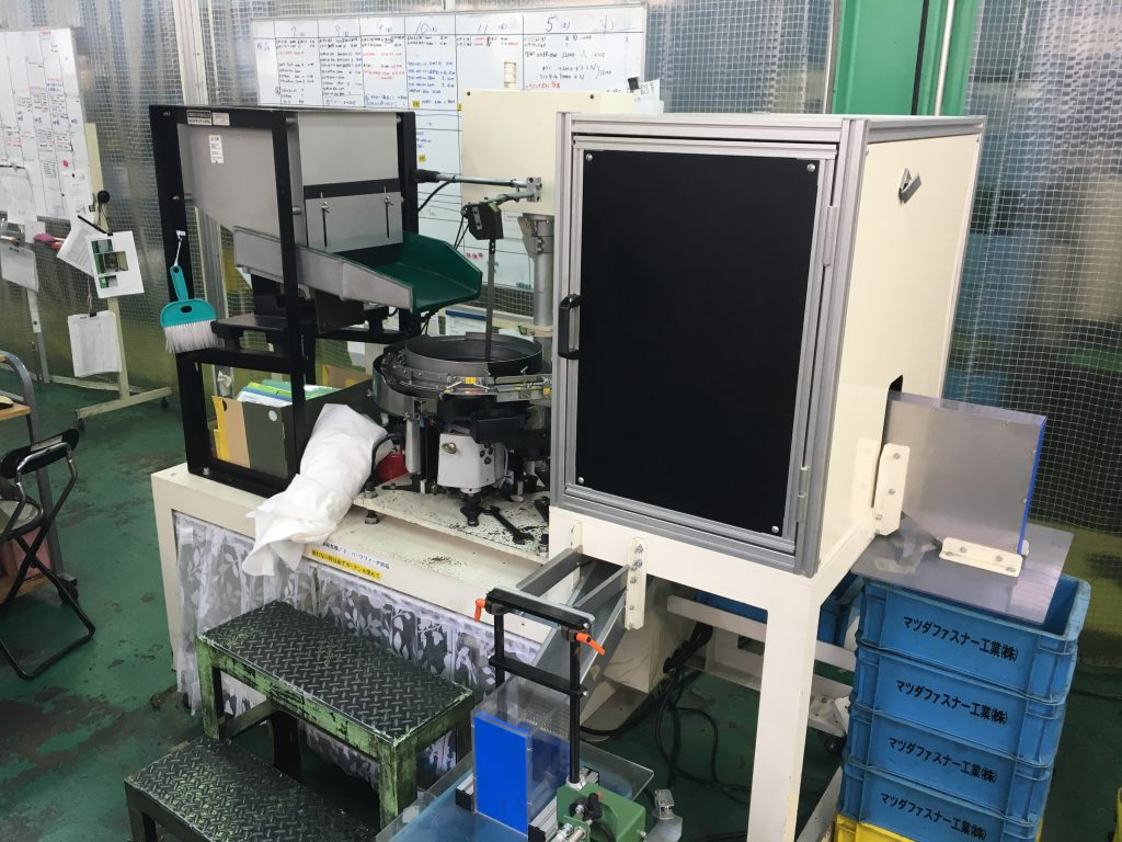 冷間鍛造部品 画像検査機(ユタカ)YS-2GR